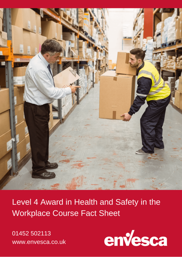 Online Level 4 Health and Safety